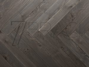 Navy Savour Grey Solid Oak Large Parquet handcrafted