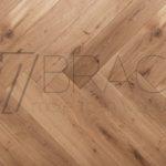Golden Oak 20x180x800mm large herringbone parquet