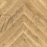 Natural Oak Classicque chevron flooring engieered FSC