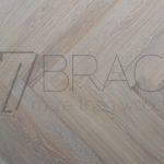 Polar Mist Light grey 70mm wide classic Oak parquet