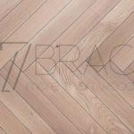 Sandstone Oak Prime Herringbone Parquet real wood