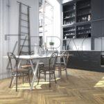 Charm Chic Natural oiled prime parquet flooring